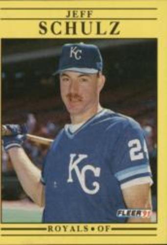 Photo of 1991 Fleer #568 Jeff Schulz RC