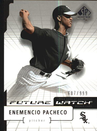 Photo of 2004 SP Authentic #102 Enemencio Pacheco FW RC