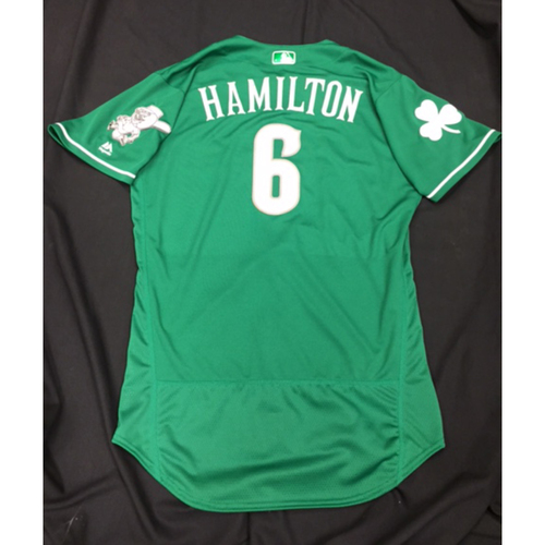Photo of Team-Issued Jersey - Billy Hamilton - Irish Heritage Jersey