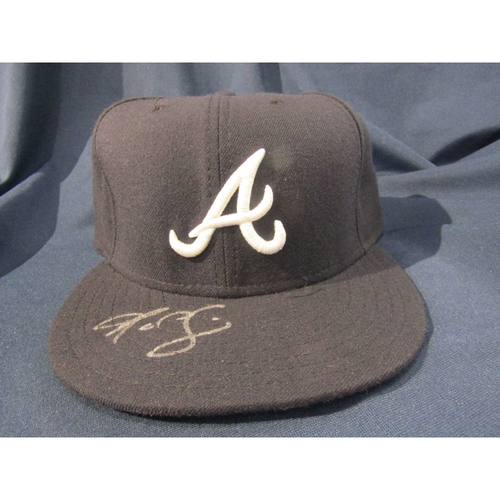 Braves Charity Auction - R.A. Dickey Autographed Hat