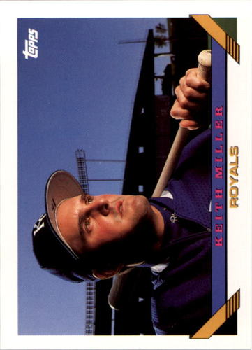 Photo of 1993 Topps #267 Keith Miller