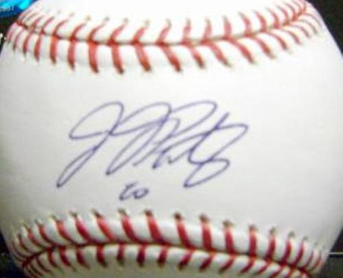 JJ Putz Autographed Baseball