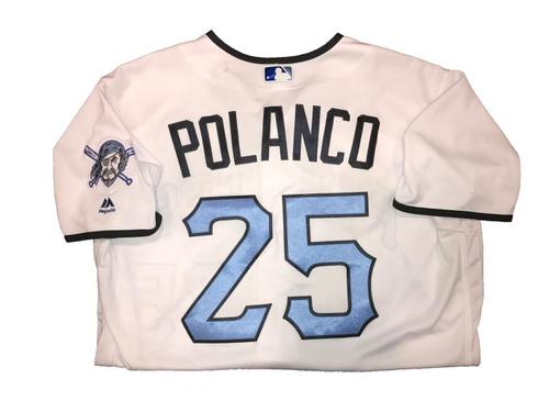 Photo of Gregory Polanco Game-Used Father's Day Weekend Jersey - Worn on 6/17 & 6/18