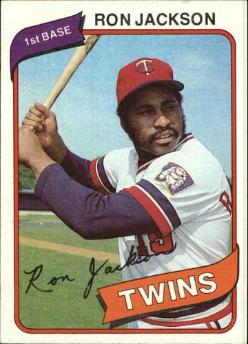 Photo of 1980 Topps #18 Ron Jackson
