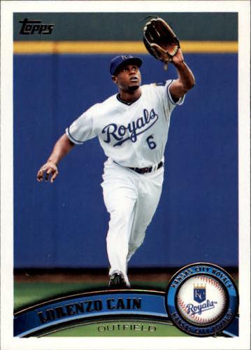 Photo of 2011 Topps #533 Lorenzo Cain