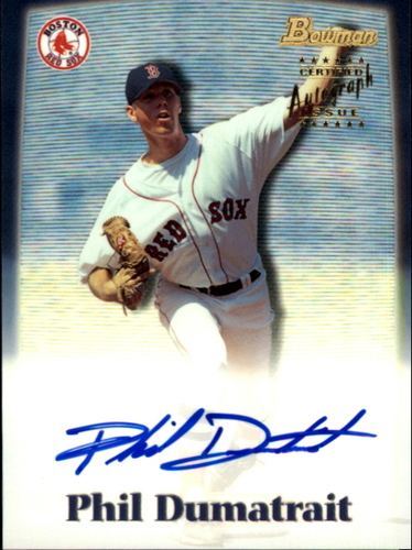 Photo of 2000 Bowman Draft Autographs #BDPA44 Phil Dumatrait