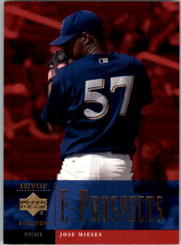 Photo of 2001 Upper Deck Evolution #115 Jose Mieses PROS RC