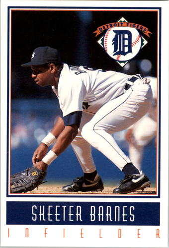 Photo of 1993 Tigers Gatorade #2 Skeeter Barnes