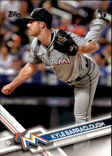 Photo of 2017 Topps #94 Kyle Barraclough