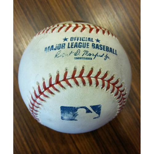 Photo of Manny Machado - Single off of Chris Archer: Game-Used