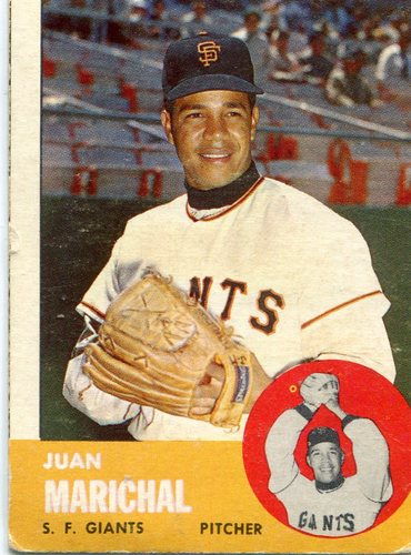 Photo of 1963 Topps #440 Juan Marichal -- Giants Hall of Famer