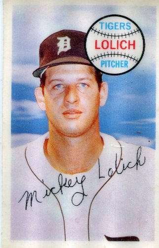 Photo of 1970 Kellogg's #65 Mickey Lolich