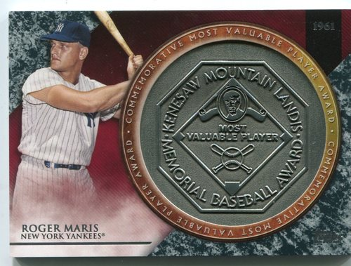 Photo of 2017 Topps Update MVP Award Relics #MVPRRM Roger Maris