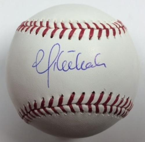 Photo of Mike Leake Autographed Baseball