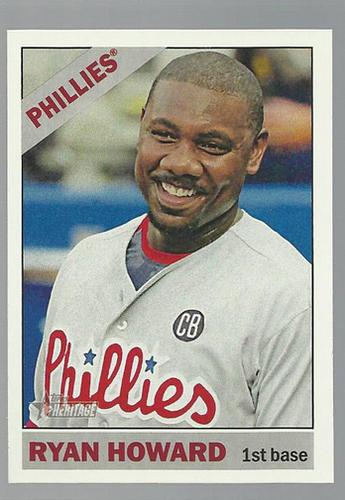 Photo of 2015 Topps Heritage #364 Ryan Howard