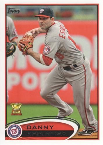 Photo of 2012 Topps #359 Danny Espinosa