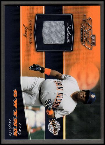Photo of 2002 Playoff Piece of the Game Materials #84A Tony Gwynn Grey Jsy