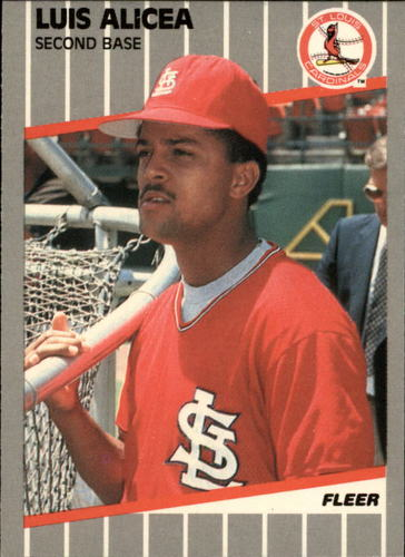Photo of 1989 Fleer Glossy #443 Luis Alicea