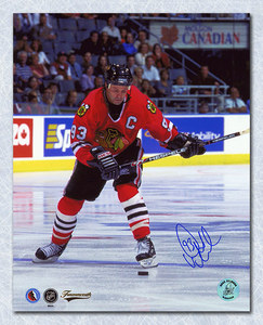Doug Gilmour Chicago Blackhawks Autographed 8x10 Photo
