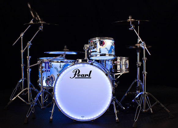 Chad Smith's Super Bowl Halftime Show Drum Kit - NFC