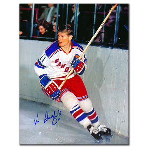 Vic Hadfield New York Rangers Autographed 8x10