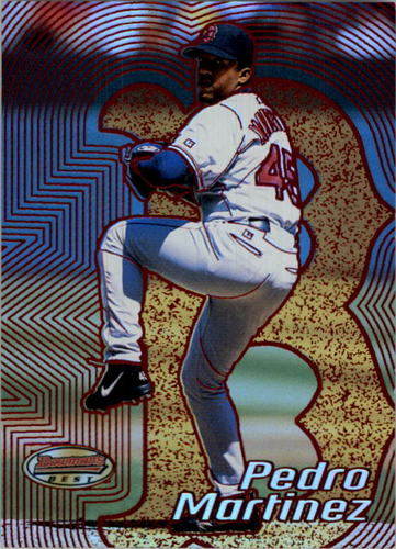 Photo of 2002 Bowman's Best Red #45 Pedro Martinez