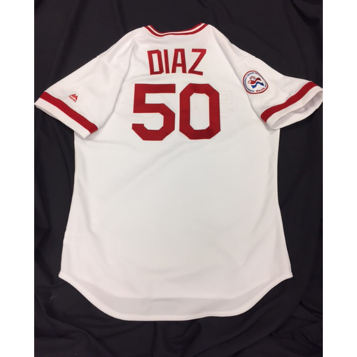 Photo of Team-Issued Jersey - Dayan Diaz - 1976 Throwback Jersey
