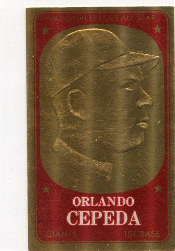 Photo of 1965 Topps Embossed #45 Orlando Cepeda
