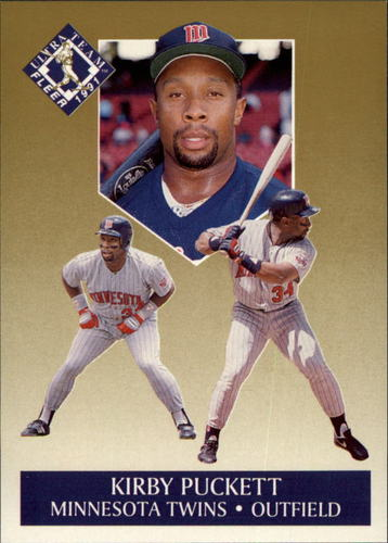 Photo of 1991 Ultra Gold #8 Kirby Puckett
