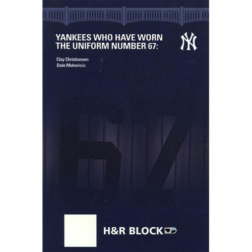 Photo of Yankee Stadium Suite Level Sign #67