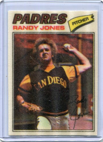 Photo of 1977 Topps Cloth Stickers #23 Randy Jones