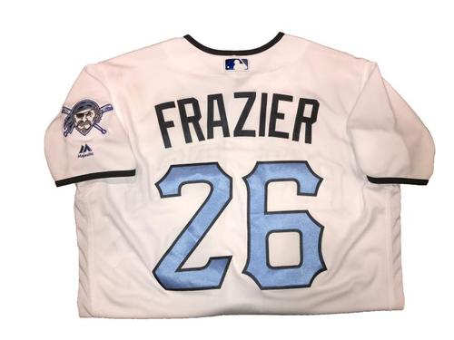 Photo of Adam Frazier Game-Used Father's Day Weekend Jersey - Worn on 6/17 & 6/18