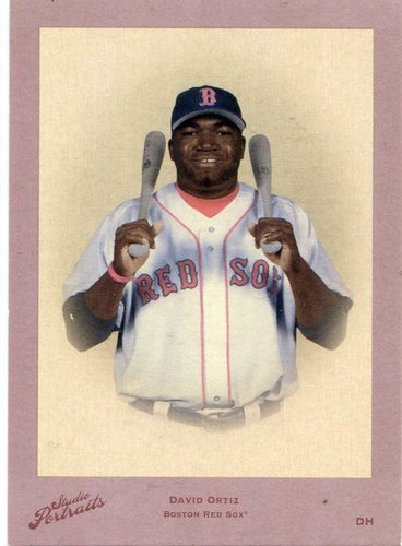 Photo of 2005 Studio Portraits DK Red #76 David Ortiz