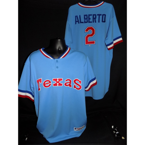 Photo of Hanser Alberto Team-Issued 1977 Throwback Jersey