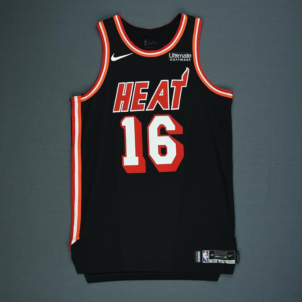 James Johnson - Miami Heat - Game-Worn Classic Edition 1988-99 Road Jersey - 2017-18 Season