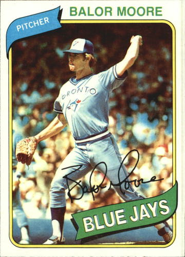 Photo of 1980 Topps #19 Balor Moore