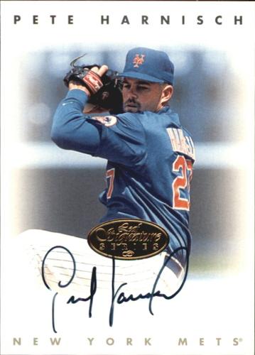 Photo of 1996 Leaf Signature Autographs Gold #96 Pete Harnisch