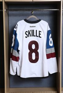 Jack Skille Colorado Avalanche Game Worn Stadium Series Jersey