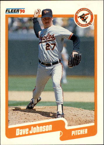 Photo of 1990 Fleer Update #67 Dave Wayne Johnson RC