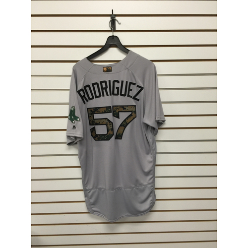 Photo of Victor Rodriguez Game-Used 2016 Memorial Day Road Jersey