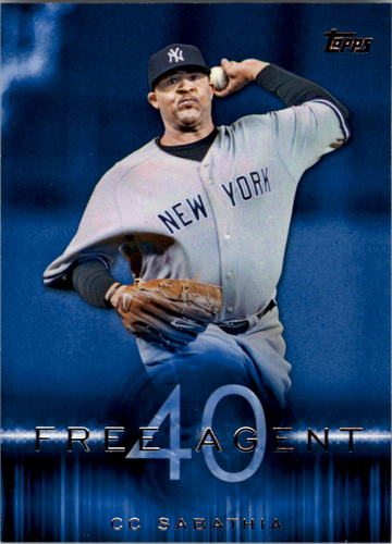 Photo of 2015 Topps Free Agent 40 #F403 CC Sabathia
