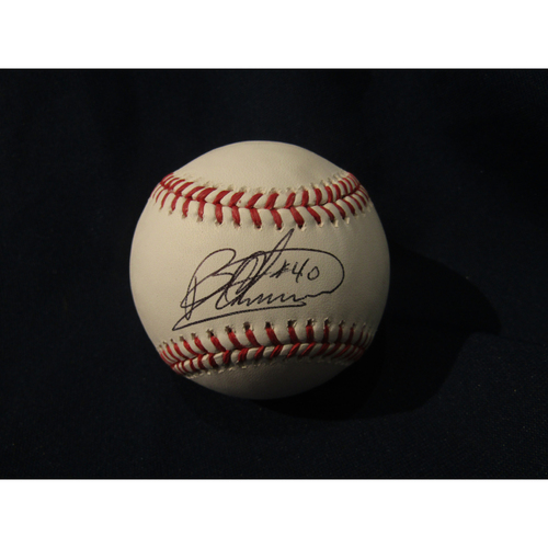 Braves Charity Auction - Bartolo Colon Autographed Baseball