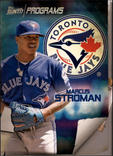 Photo of 2017 Topps Bunt Programs #PRMS Marcus Stroman