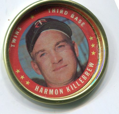 Photo of 1971 Topps Coins #100 Harmon Killebrew