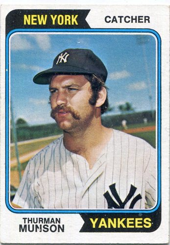 Photo of 1974 Topps #340 Thurman Munson