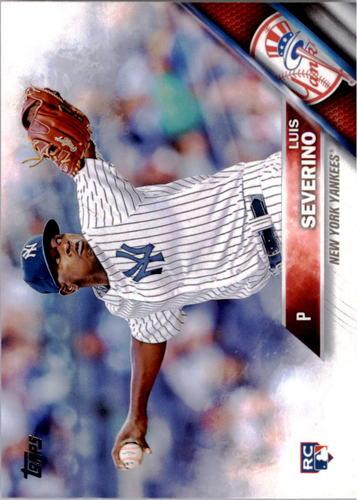 Photo of 2016 Topps #265A Luis Severino Rookie Card -- Yankees post-season