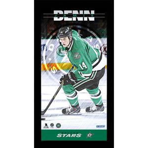 Jamie Benn Dallas Stars Player Profile 10x20 Framed Photo