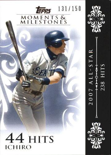 Photo of 2008 Topps Moments and Milestones #63-44 Ichiro Suzuki