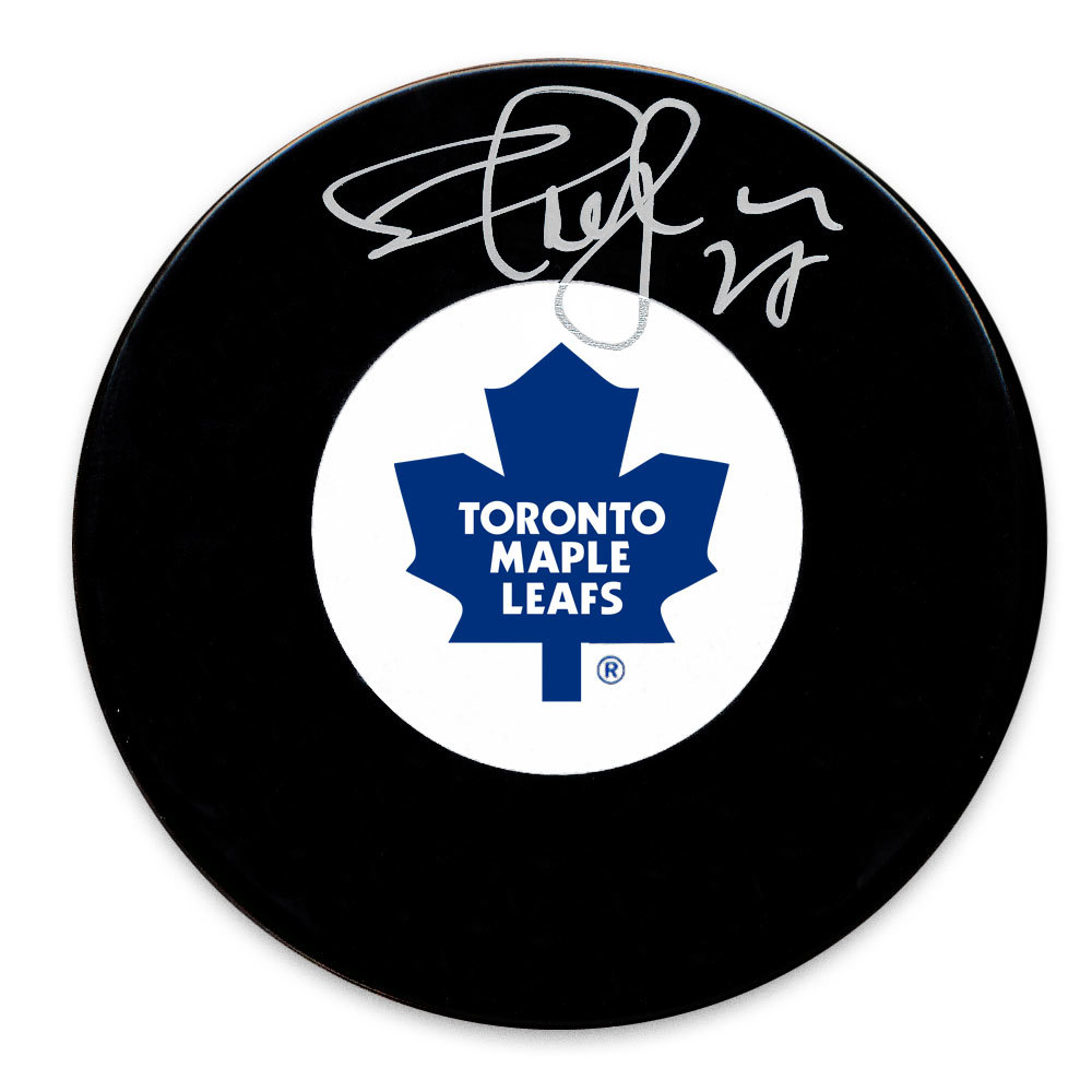 Shayne Corson Toronto Maple Leafs Autographed Puck