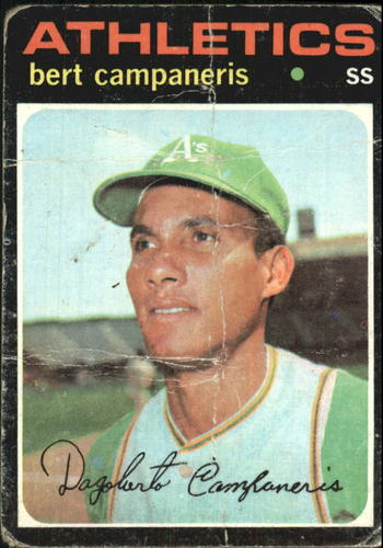 Photo of 1971 Topps #440 Bert Campaneris